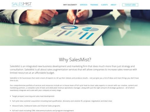 Sales Augmentation – Salesmist
