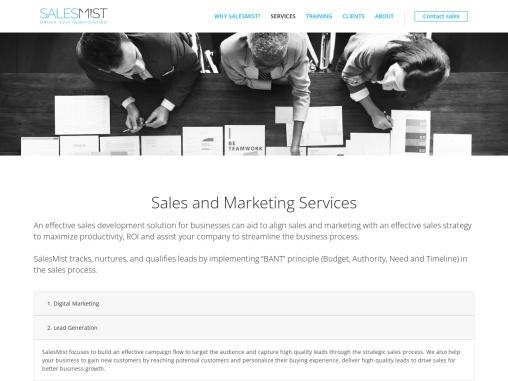 Demand Generation –  Salesmist