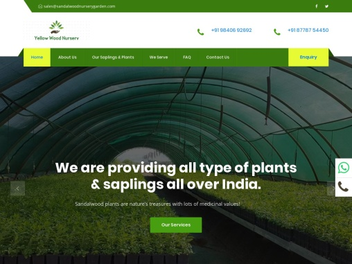 Sandal Wood Nursery Garden