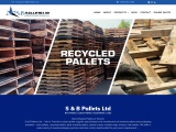 S&B wooden Pallets is a soft and hardwood pallets