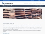 S&B Pallet deals with wooden products recycled pallets