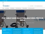 Shot blasting machine manufacturers | Portable Shot Blasting Machine price in India for sale
