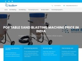 Shot blasting machine manufacturers | Shot Blasting Machine price in India for sale