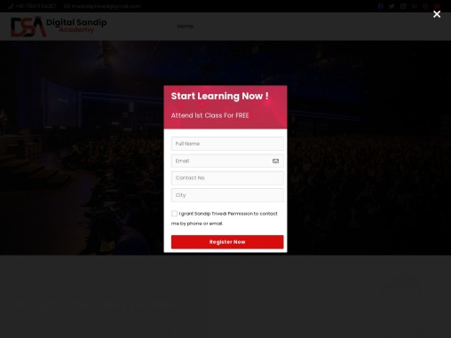 India's best Agency based Digital Marketing Institute Get Enrolled in Digital Marketing Course that