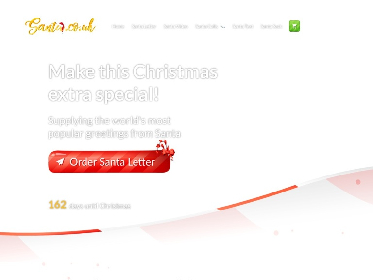 Santa.co.uk Discount Codes screenshot