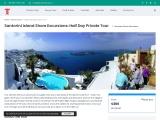 Exclusive Santorini Shore Excursion Tour Designed to Please You