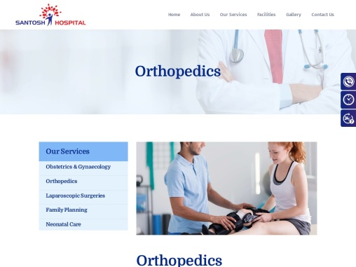 Best Orthopedic Doctor in Zirakpur – Santosh Hospital