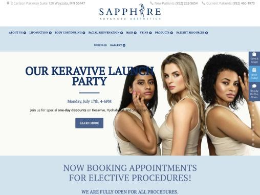 Sapphire Advanced Aesthetics: Leslie Smith, D.O.