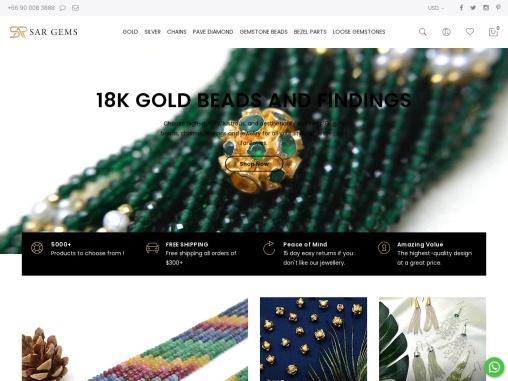 Semi Precious Beads Online | Semi Precious Gemstone Beads | Sargems