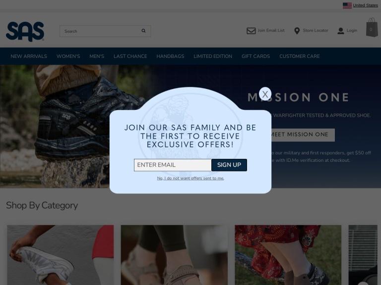 Sas Shoes screenshot