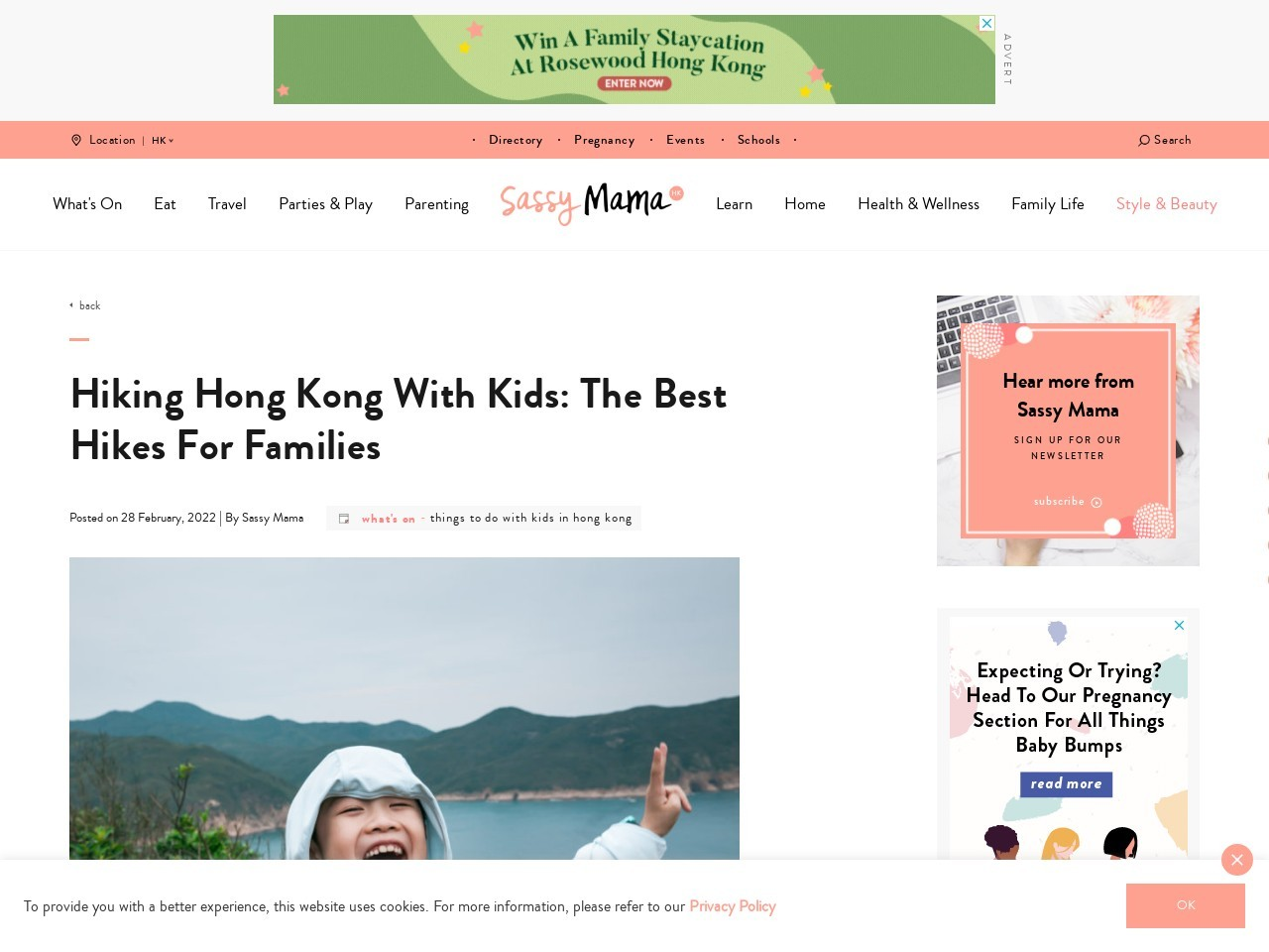 Best Hikes For Households: Where To Go Hiking With Kids in Hong Kong