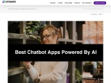 10 Best Chabot Apps Powered by AI
