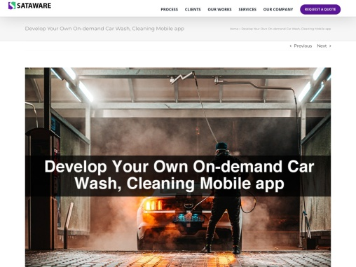 Develop Your Own On-demand Car Wash Mobile app