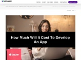 How Much Will It Cost to Develop an App Like Tinder or Happn