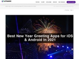 Best New Year Greeting Apps for iOS & Android In 2021