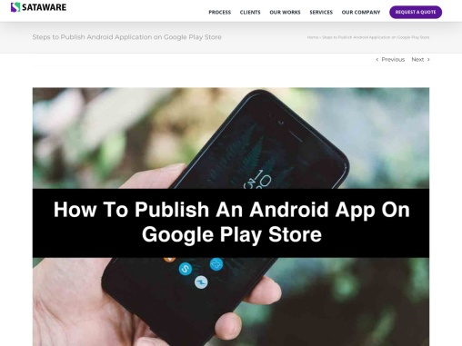 How to Publish an Android App on Google Play Store
