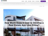 How Much Does It Cost to Develop a Real Estate App Like Zillow