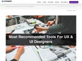 Most Recommended Tools For UX & UI Design