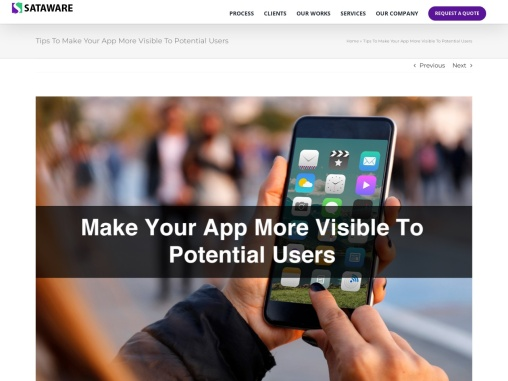 Tips To Make Your App More Visible To Potential Users