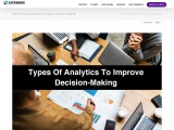 Types of Analytics to Improve Decision-Making