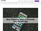 5 Most effective ways to promote your mobile app