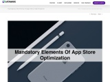 Mandatory Elements of App Store Optimization