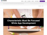 Top 7 characteristic Must Be Focused While App Development