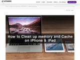 How to Clean up Memory and Cache on iPhone & iPad