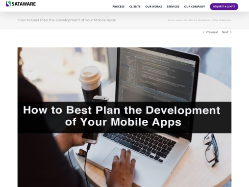 How to Best Plan the Development of Your Mobile Apps