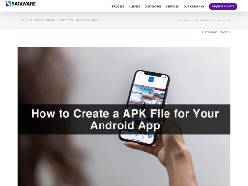 How to Create an APK File for Your Android App