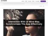 Interaction With UI Mind Map synchronizes The App Effectively