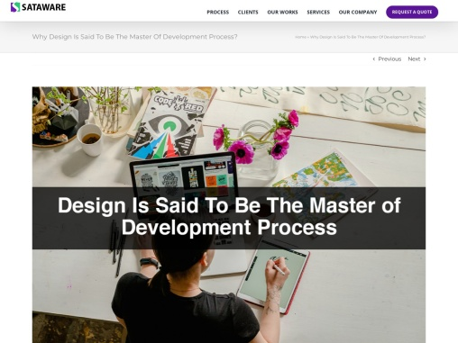 Why Design Is Said To Be The Master Of Development Process