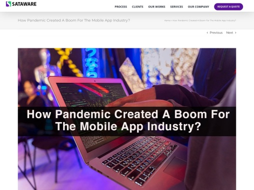 How Pandemic Created A Boom For The Mobile App Industry?