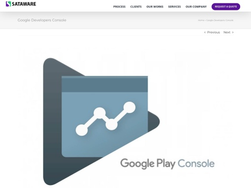 Google Developers Console Dashboard and statistics