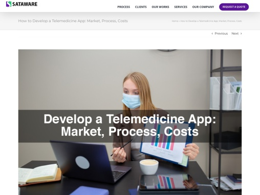 How to Develop a Telemedicine App: Market, Process, Costs