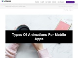Types of Animations for Mobile Apps