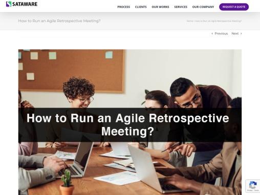 How to Run an Agile Retrospective Meeting?
