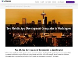 Top 10 App Development Companies in Washington