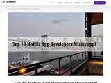 Top 10 Mobile App Developers Mississippi