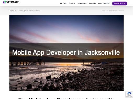 Top Mobile App Developers Jacksonville