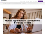 A Quick Guide On Mobile App Backend Development For Busy People