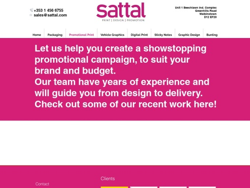 Exceptional Dublin Promotional Products | Sattal