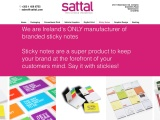 Personalised Sticky Notes Dublin | Sattal