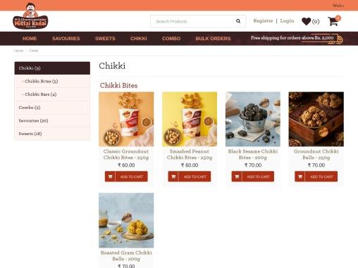 Chikki online