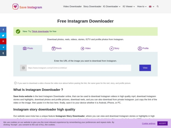- 10 Free Instagram Reels Video Download Online