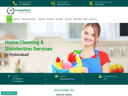 Cleaning Services in Hyderabad