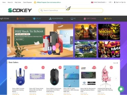 SCDKey.com screenshot