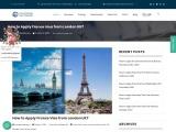 Apply France Visa from London UK