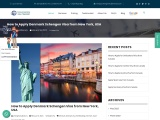 How to apply Denmark Visa from United States
