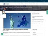 How to Apply Schengen Italy Visa from New York, USA